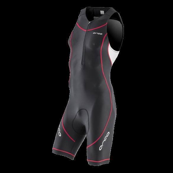 Orca Core basic race trisuit zwart/wit/rood heren  HVCF15VRR