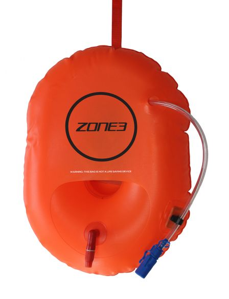 Zone3 Buoy/Dry bag hydration control oranje  SA18SBHY113