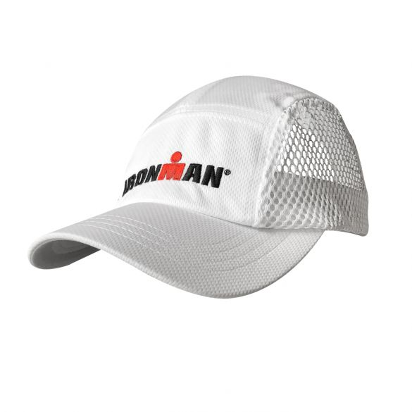 Ironman venti race cap white  IMVENTIRACECAP