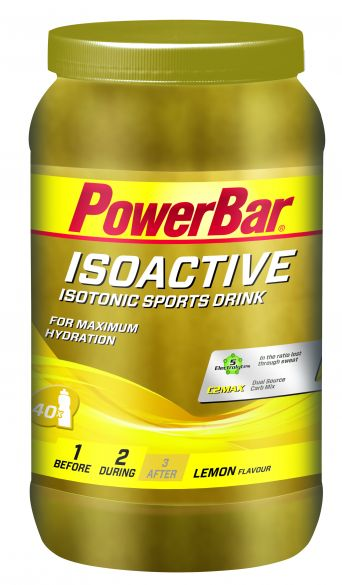 Powerbar Isoactive 1320 gram lemon  3264