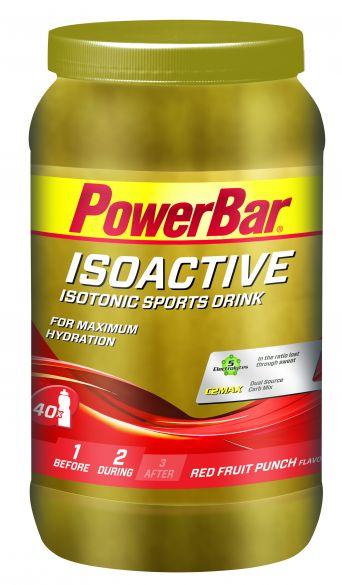 Powerbar Isoactive 1320 gram red fruit punch  3266