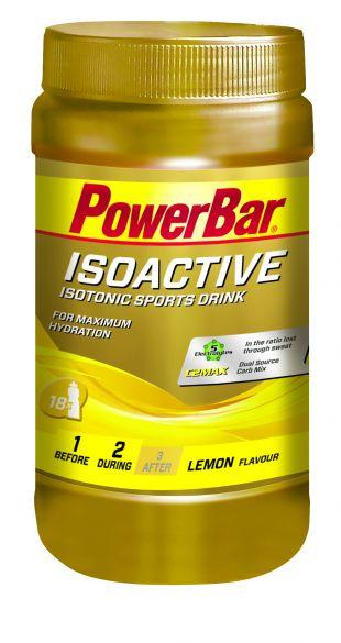 Powerbar Isoactive 600 gram lemon  3267