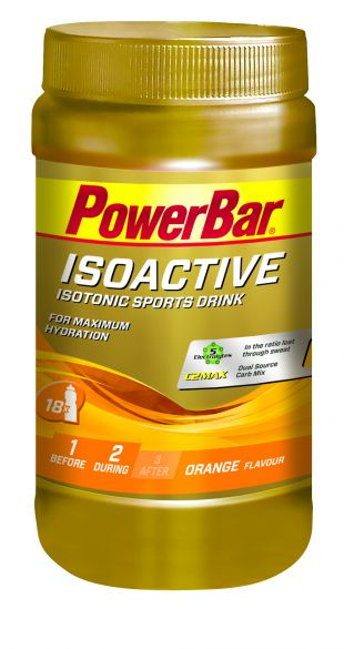Powerbar Isoactive 600 gram orange  3268