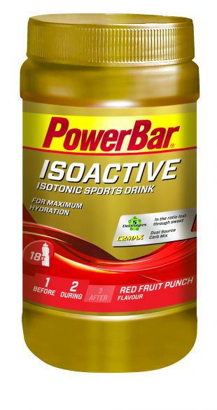 Powerbar Isoactive 600 gram red fruit punch  3269