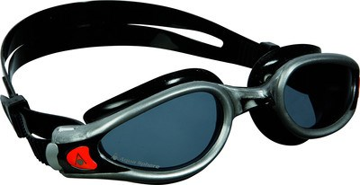 Aqua Sphere Kaiman EXO donkere lens zwembril zwart/zilver  AS175640