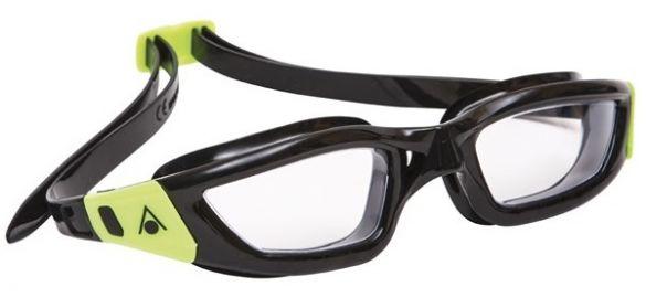 Aqua Sphere Kameleon transparante lens zwembril zwart/lime  AS183020