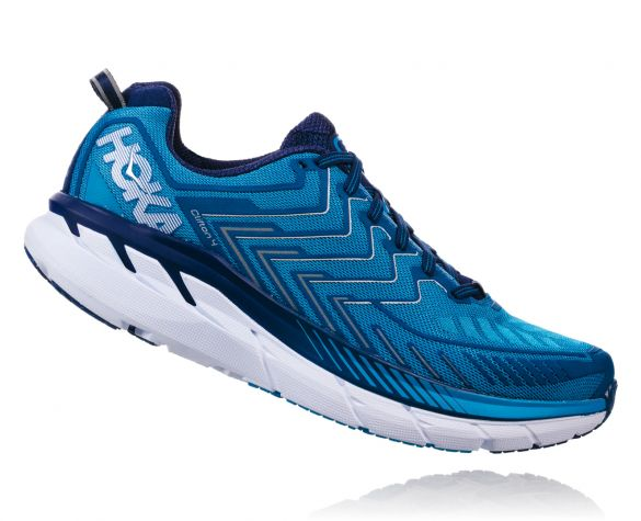 Hoka One One Clifton 5 Chaussures De Course Jaune Hommes aPHkmmM