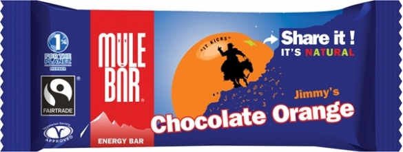 MuleBar Reep jimmy's chocolate orange 30 x 40 gram  00977797