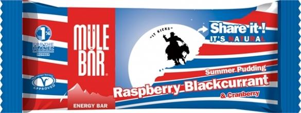 MuleBar Reep Summer Pudding raspberry blackcurrant 30 x 40 gram  00977782
