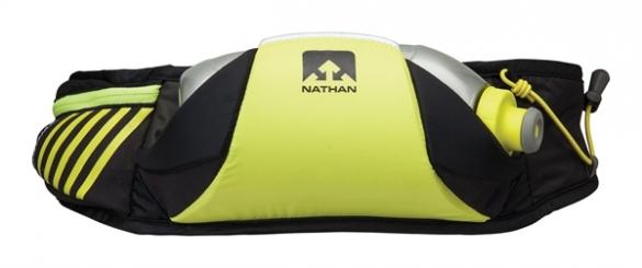 Nathan Horizon Drinkgordel Zwart Geel   00975338
