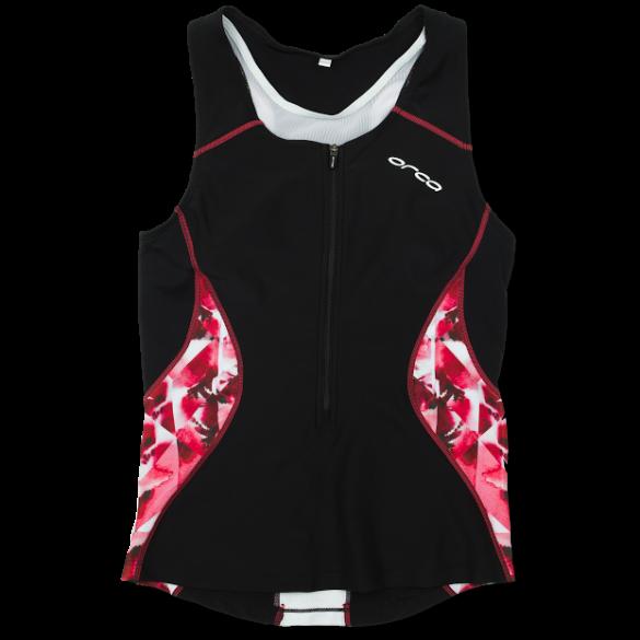 8ff2fad0993 Orca Core tri top zwart/roze dames