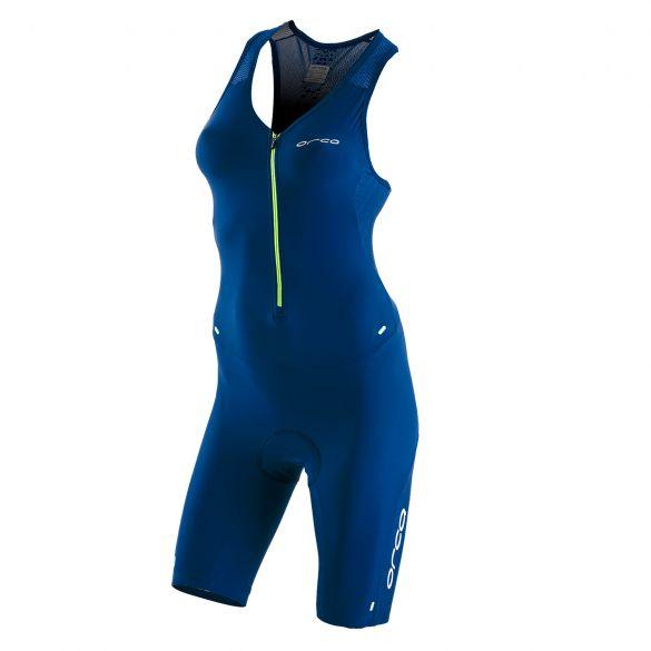 Orca 226 kompress race trisuit mouwloos blauw dames  KP5246