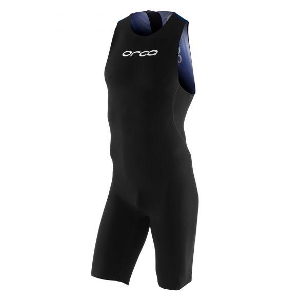 Orca 226 perform swimskin mouwloos zwart/blauw heren  KP1908