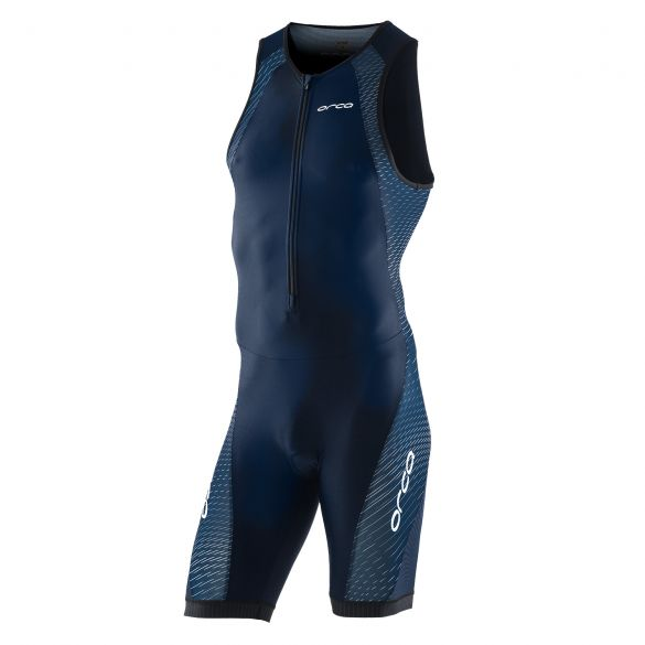 Orca core race trisuit mouwloos blauw heren  KC1246