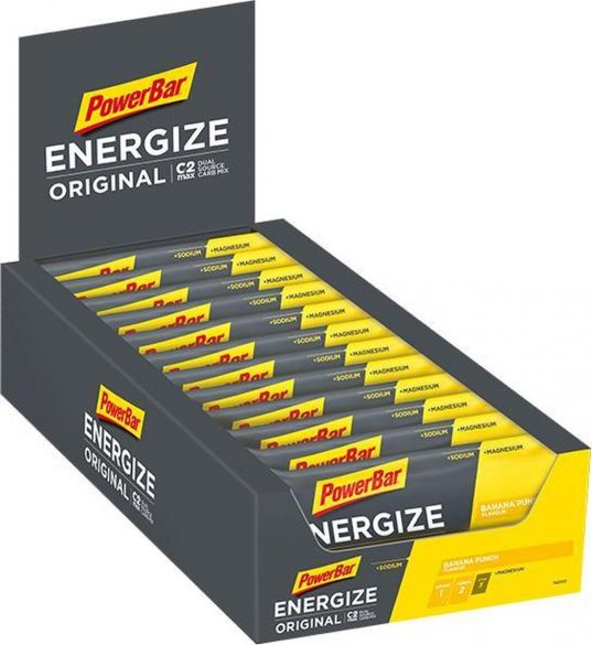 Powerbar Energize bar energiereep banaan 25 x 55 gram  3205