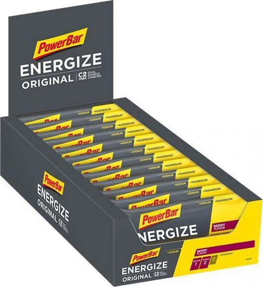 Powerbar Energize bar energiereep bes 25 x 55 gram  3213