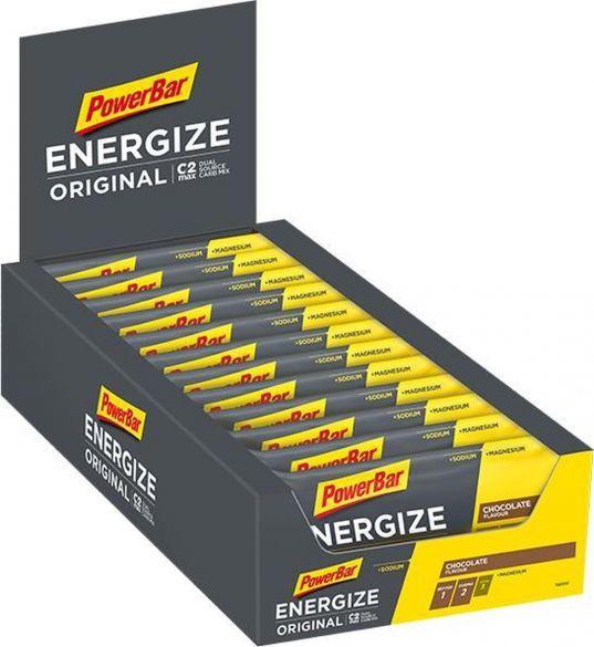 Powerbar Energize bar energiereep chocolade 25 x 55 gram  3202