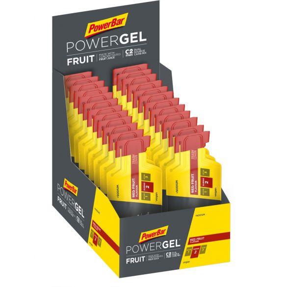 Powerbar Powergel fruit rood fruit 24 x 41 gram  3224