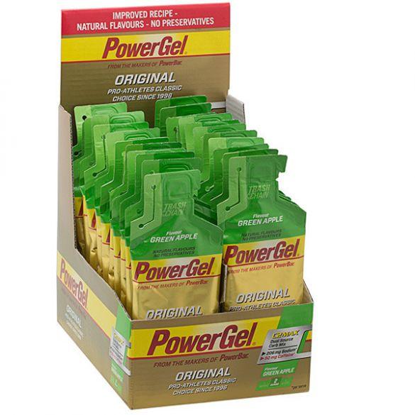 Powerbar Powergel caffeine appel 24 x 41 gram  3226