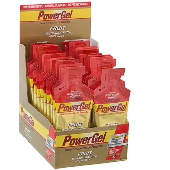 Powerbar Powergel fruit rood fruit 24 x 41 gram  3224