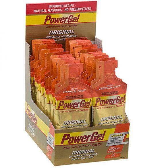 Powerbar Powergel original tropisch fruit 24 x 41 gram  3243