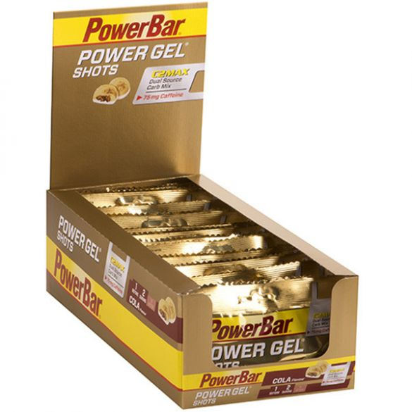 Powerbar Powergel shots cola 24 x 60 gram  3465