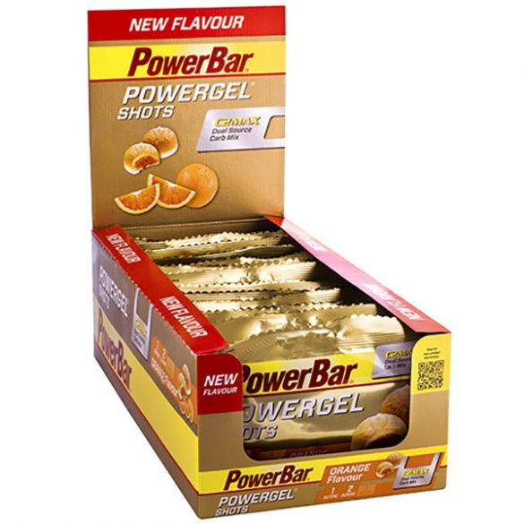 Powerbar Powergel shots orange 24 x 60 gram  3466