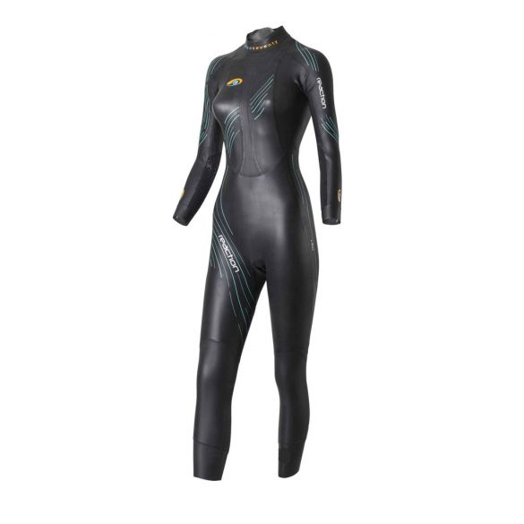 Blueseventy Reaction wetsuit dames  WSRFS-17-BLK-W