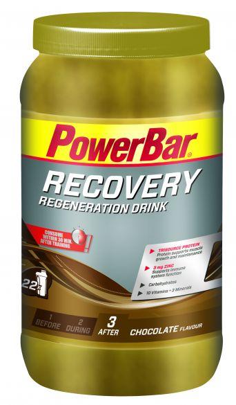 Powerbar Recovery drink chocolade 1200 gram  3275