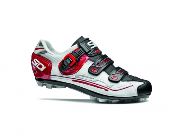 Sidi Eagle 7 Fit mountainbikeschoen wit zwart rood Weekendactie  SIDIEAGLE7wbrW-VRR