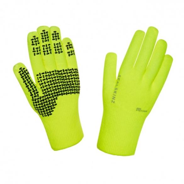 SealSkinz Ultra grip fietshandschoenen geel  121161701-701