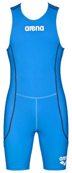 Arena ST rear zip mouwloos trisuit blauw heren  AR1A919-88