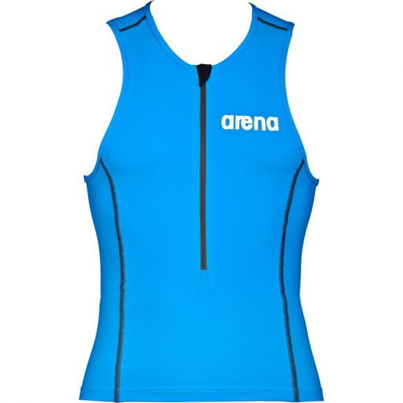Arena ST mouwloos tri top blauw heren  AR1A920-88