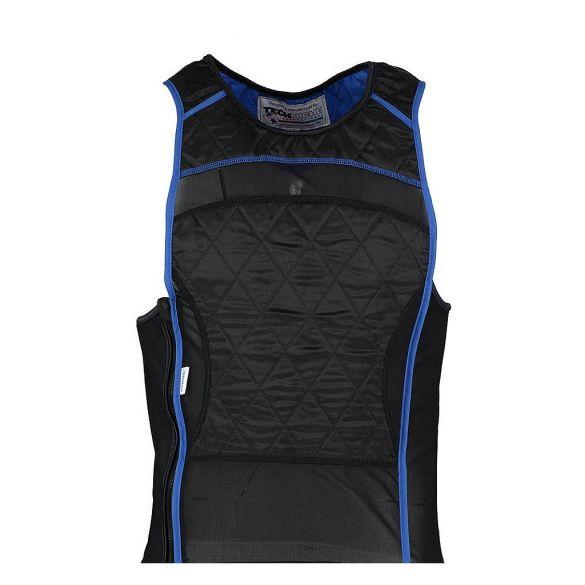 TechNiche KewlShirt evaporative cooling tank top zwart/blauw  6201-BK/BL