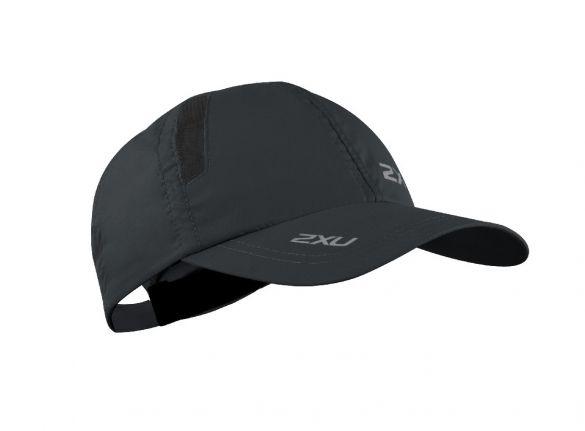 2XU Run Cap zwart  UQ5685F-BLK/BLK