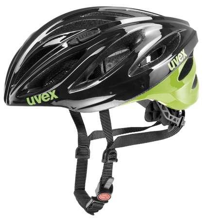 Uvex Boss Race Fietshelm zwart/groen  UB410229-04XX