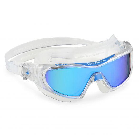 Aqua Sphere Vista Pro multilayer mirror lens zwembril clear/blauw  187040