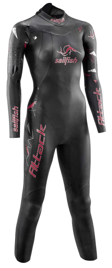 Sailfish Attack fullsleeve wetsuit dames  SL6223