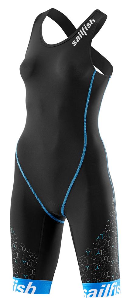 Sailfish Trisuit pro zwart-blauw dames 2018  SL2233VRR