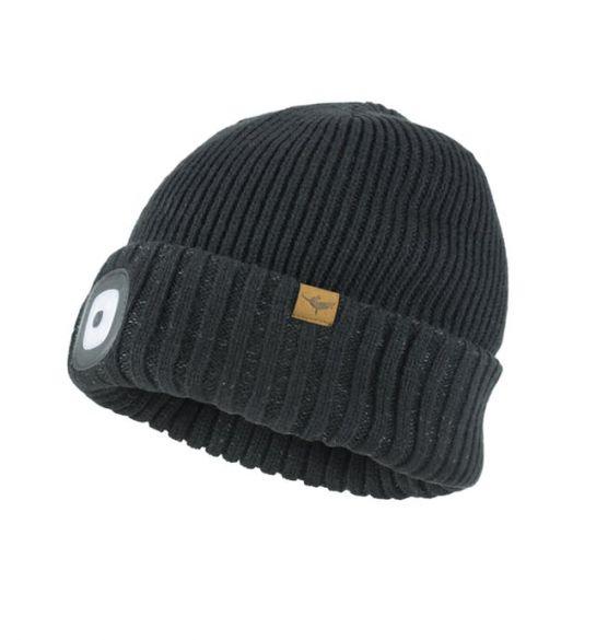 Sealskinz cold weather led beanie zwart  13100034-0001-VRR