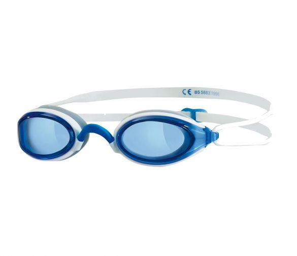 Zoggs Fusion air blauwe lens zwembril blauw/wit  461012-320755