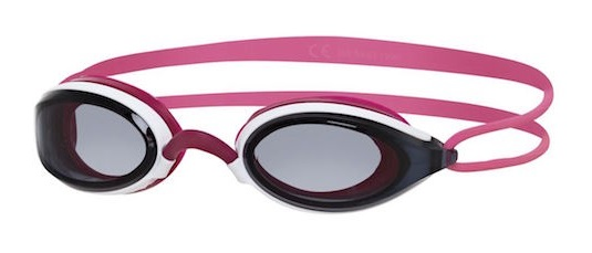Zoggs Fusion air lady donkere lens zwembril roze  461012-321755