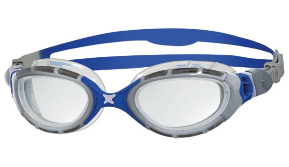 28e272fda37de0 Zoggs Predator flex 2.0 zwembril zilver/blauw kopen? Bestel bij ...