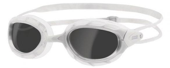 Zoggs Predator donkere lens zwembril wit  461037-330863