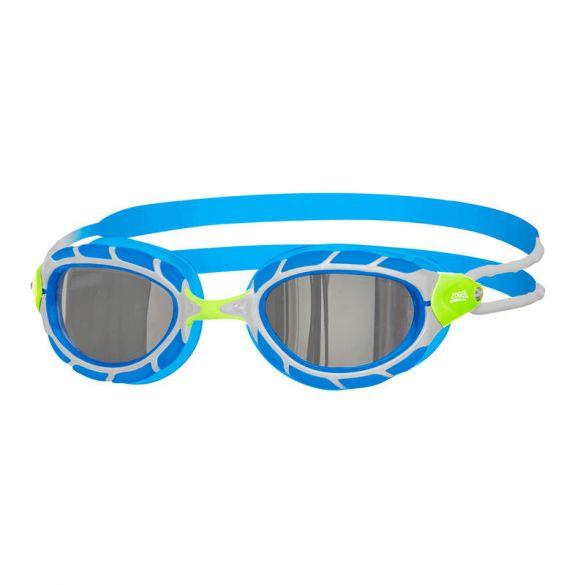 Zoggs Predator titanium zwembril blauw/wit  461065-311797