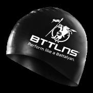 Siliconen badmuts zwart