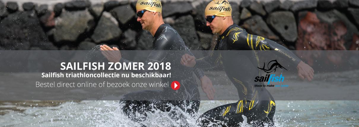 Sailfish zomercollectie nieuw 2018