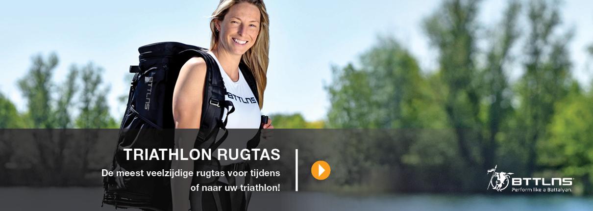 BTTLNS triathlon rugtas